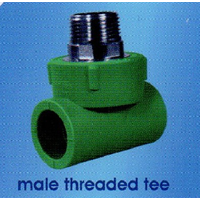 Male Threaded Tee PPR SD 1
