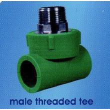 Male Threaded Tee PPR SD