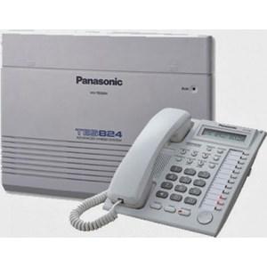 Pabx Panasonic Tes 824 Ext Lengkap Dengan Telp Digital Dan Ts 505