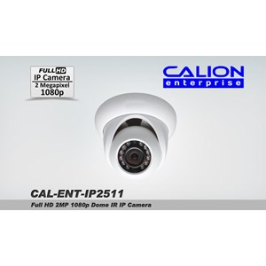 Ip Camera Full Hd 2Mp 1080P Cal-Ip2511 Calion Cctv Kamera Dome