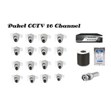 Paket Kamera Cctv 16  Channel Calion
