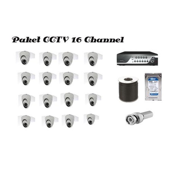 Cctv 16  Channel Calion
