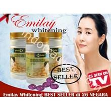Pil Pemutih Kulit Wajah Herbal Alami ( Emilay Whitening Softgel Asli ) Rahasia Alami Suplemen Pemutih Kulit Secara Natural