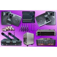 Jual Paket Sound System Meeting Rapat Seminar Besar 4 Yamaha Auderpro Untuk Aula Auditorium
