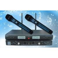 Jual Mikrofon Wireless Auderpro Ap-929Wm-Hh (2 Mic Genggam) Uhf Digital Jarak Jangkau Hingga 100 Meter