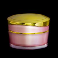 Acrylic Round Jar Pink 15 Gr LGC 1002-1