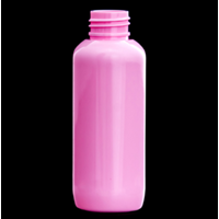 Jual PET Round Bottle Pink 120 ML