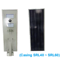 Casing Lampu Solar PJU SRL40 ~ SRL60
