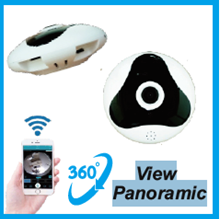 Kamera CCTV Panoramic P2P 360