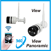 Kamera CCTV Panoramic P2P DP 360