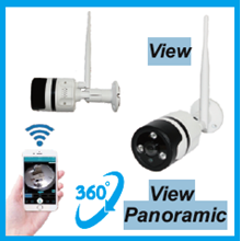 Kamera CCTV Panoramic P2P AP 360 / DP 360