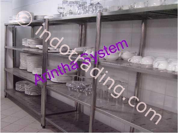 Jual rak stainless steel harga murah kota tangerang oleh for Daftar harga kitchen set stainless steel