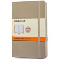 Moleskine Notebook Ruled Soft Cover K.Beige P Qp611g4 1