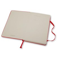 Distributor Moleskine Notebook Ruled Hc Red L Qp060rf 3