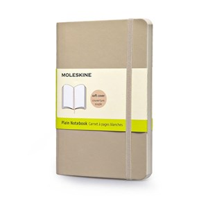 Moleskine Notebook Plain Soft Cover K.Beig P Qp613g4