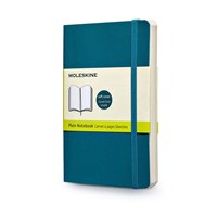 Moleskine Notebook Plain Soft Cover U.Blu L Qp618b6f 1