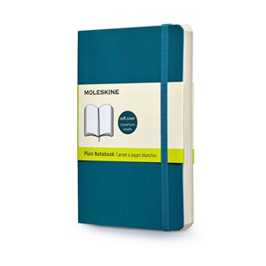 Moleskine Notebook Plain Soft Cover U.Blu L Qp618b6f