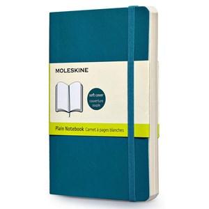Moleskine Notebook Plain Soft Cover U.Blu P Qp613b6f