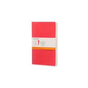 Moleskine Volant Ruled Journal G.Red L Qp721f14