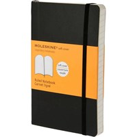Moleskine Notebook Ruled Soft Cover Blk P Qp611f 1
