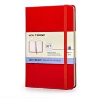 Buku Tulis Moleskine Sketch Book Red P Qp014rf 1
