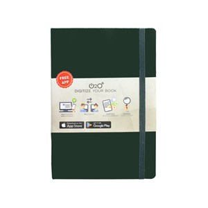 Buku Tulis O2o Journal Dark Green Nbafi-Hc007