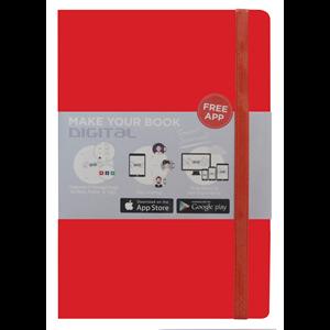 Buku Tulis O2o Journal Red Nbaef-Hc005
