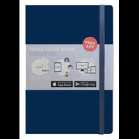 Buku Tulis O2o Journal Dark Blue Nbaef-Hc003 1