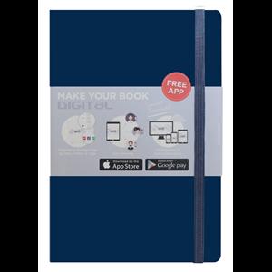 Buku Tulis O2o Journal Dark Blue Nbaef-Hc003