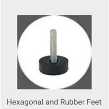 Hexagonal And Rubber Feet