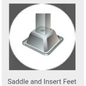 Saddle And Insert Feet
