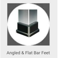 Angled & Flat Bar Feet 1