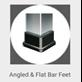 Angled & Flat Bar Feet