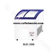 Mesin Sliding Curve Glass Freezer