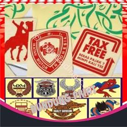 Stiker By Dundung Print