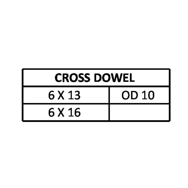 Mur Palu / Cross Dowel