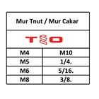 T Nut /  Mur Cakar 2