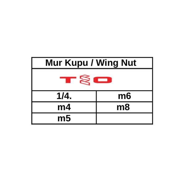 Mur Kupu / Wing Nut