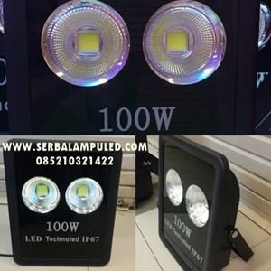 lampu sorot 100w LED