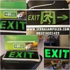 Lampu Emergency EXIT  1