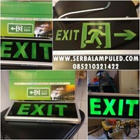 Lampu Emergency EXIT  1