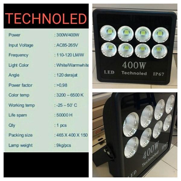 lampu sorot TECHNOLED 400w led