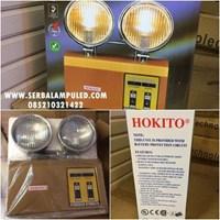 Lampu Emergency Hokito DK 7032 Halogen 2x 6W