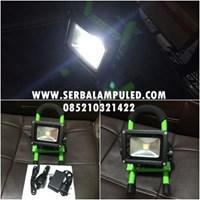 lampu sorot emergency portable 10w 1