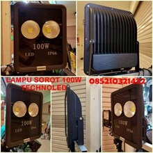 lampu sorot LED 100w