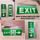 lampu Emergency EXIT bahan akrilik 1