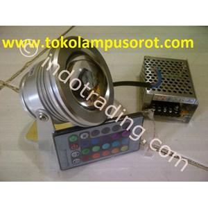 Lampu Led (Rgb) Untuk Kolam Renang Dengan Remote Control