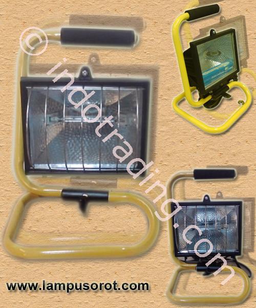Jual Lampu Sorot Halogen Portable 300W-500W Harga Murah