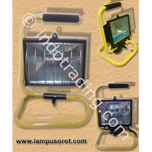 Lampu Sorot Halogen Portable 300W-500W