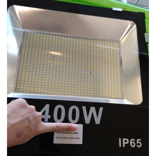 lampu sorot hemat energi led 400w